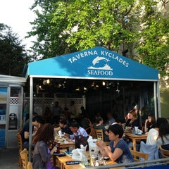Photo taken at Taverna Kyclades by Heeyoung K. on 5/20/2013