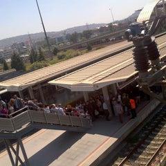 Photo taken at İzban Halkapınar İstasyonu by Mert A. on 4/27/2013