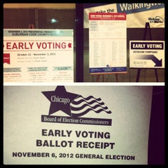 Photo taken at Chicago Board of Elections by John M. on 10/23/2012