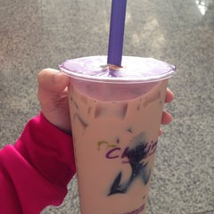 Photo taken at Chatime 日出茶太 by Kim P. on 10/13/2014