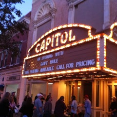 Photo taken at Cox Capitol Theatre by Daniel B. on 10/19/2012