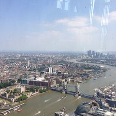 Photo taken at The Shard by Marco M. on 7/7/2013