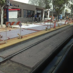 Photo taken at 5th Ave Trolley Station by Rogelio N. on 3/25/2013
