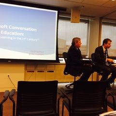 Photo taken at Microsoft Innovation and Policy Center by Nu W. on 9/25/2014