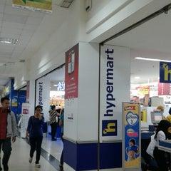 Photo taken at hypermart by Diah N. on 10/6/2014