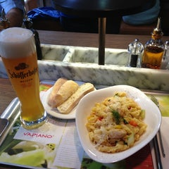 Photo taken at Vapiano by Eduardo B. on 6/9/2013