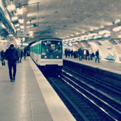 Photo taken at Métro Réaumur—Sébastopol [3,4] by Alexandre C. on 9/8/2013