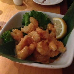Photo taken at Takahachi by East Village Eats on 2/10/2013