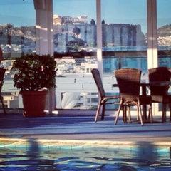 Photo taken at Athens Ledra Hotel by Vassilis D. on 8/5/2013