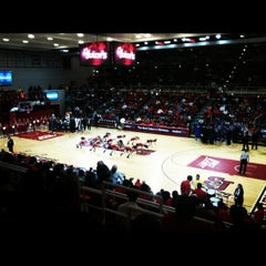 Photo taken at Carnesecca Arena by Catherine F. on 2/21/2012
