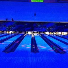 Photo taken at Brunswick Zone - Lowell by Charlie M. on 4/8/2012