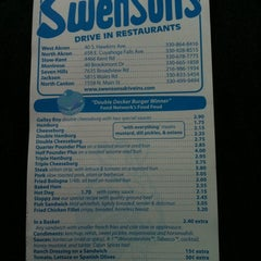 Photo taken at Swensons Drive-In by Carolyn B. on 4/23/2011