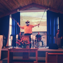 Photo taken at Bedford Community Church by Chris G. on 4/27/2014