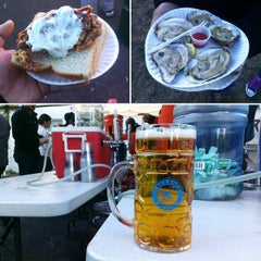 Photo taken at Oysterfest by Jesse L. on 10/20/2014