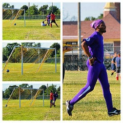 Photo taken at Belle Isle Athletic Field by Fletcher S. on 8/21/2014