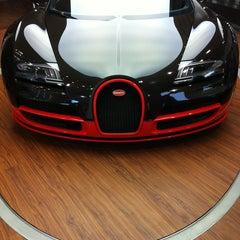 Photo taken at Bugatti | Automobil Forum Unter den Linden by Vlad K. on 5/25/2013