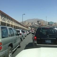 Photo taken at Puente Internacional Santa Fe (Paso Del Norte) by Mando H. on 6/9/2013