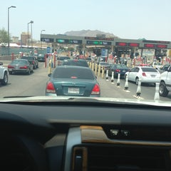 Photo taken at Puente Internacional Santa Fe (Paso Del Norte) by Mando H. on 7/4/2013