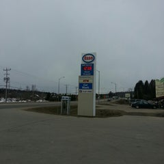 Photo taken at Esso by Steven F. on 3/31/2013