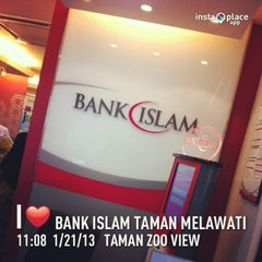 Photo taken at Bank Islam Taman Melawati by Zulfadli A. on 1/21/2013