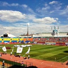Photo taken at Центральный Стадион / Central Stadium by Karina P. on 7/21/2013
