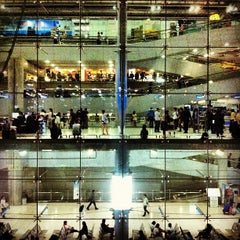 Photo taken at Departures / Check-In Hall by Artid J. on 4/11/2013
