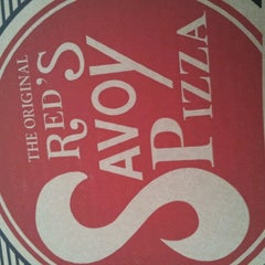 Photo taken at Red's Savoy Pizza by Tami C. on 9/29/2012