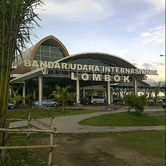 Photo taken at Lombok International Airport (LOP) by Prasodjo H. on 3/28/2013