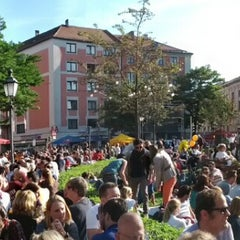 Photo taken at Gärtnerplatz by Branimir D. on 9/16/2012