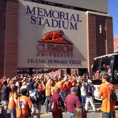 Photo taken at Memorial Stadium by Alex T. on 10/20/2012