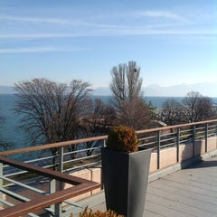Photo taken at Hilton Evian-les-Bains by Stephane L. on 3/21/2013