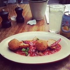 Photo taken at Jamie's Italian by Kshitij S. on 6/25/2013