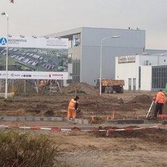 Photo taken at Automotive Campus by Rik M. on 11/6/2014