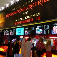Photo taken at Reel Cinemas ريل سينما by Mark S. on 9/15/2012