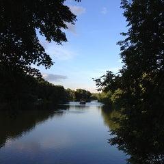 Photo taken at Природно-исторический парк «Кузьминки-Люблино» by Alexey B. on 7/17/2013