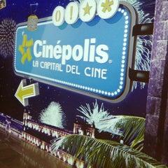 Photo taken at Cinépolis by Miros G. on 3/28/2013