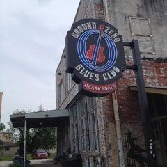 Photo taken at Ground Zero Blues Club by Brendan J. on 5/9/2013