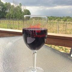 Photo taken at Sandhill Crane Vineyards by Pete G. on 5/22/2013