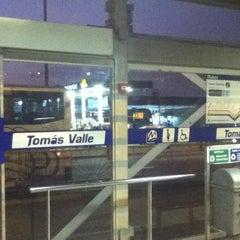 Photo taken at Estación Tomás Valle - Metropolitano by Julio S. on 11/25/2012