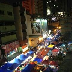 Photo taken at Pasar Malam Jalan Tuanku Abdul Rahman by Haliza B. on 3/30/2013