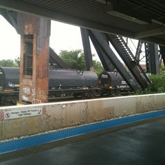 Photo taken at CTA - Ashland by BTRIPP on 8/15/2013