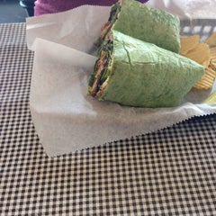 Photo taken at Little Food Cafe by Jonathan G. on 8/16/2014