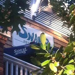 Photo taken at The Swamp Restaurant by Elisa N. on 11/2/2012