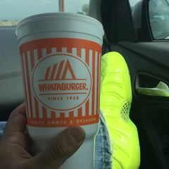 Photo taken at Whataburger by Tom R. on 4/9/2015