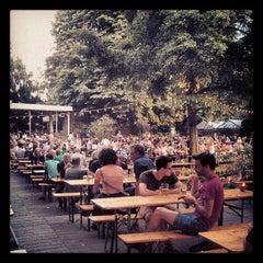 Photo taken at Café am Neuen See by Frank N. on 7/19/2013