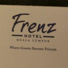 Photo taken at Frenz Hotel & ZamZam Restaurant by Joann C. on 1/20/2013