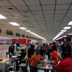 Photo taken at Buffaloe Lanes South Bowling Center by Chris S. on 11/16/2013