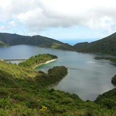 Photo taken at Miradouro da Lagoa do Fogo by Ricardo M. on 8/3/2013