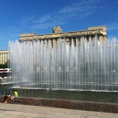 Photo taken at Московская площадь by Ксения on 7/8/2013