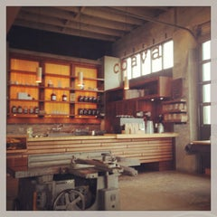 Photo taken at Coava Coffee Brew Bar by Stacy R. on 4/2/2013